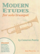 Pearce Cameron - Modern Etudes For Solo Trumpet
