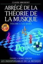 Abromont - Abrege De La Theorie De La Musique Vol.1 Les Bases + Cd-rom