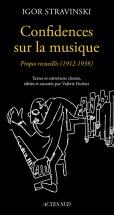 Stravinsky I. - Confidences Sur La Musique