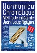 Nguyen Jean-louis - Harmonica Chromatique Methode Integrale + 2 Cd
