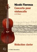 Fiorenza - Concerto Pour Violoncelle En Fa M - Violoncelle