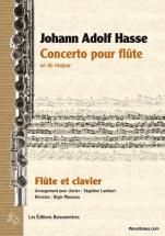 Hasse J.a. - Concerto Pour Flute En Do Majeur - Flute