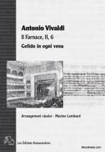 Vivaldi A. - Gelido In Ogni Vena (farnace) - Chant Et Piano
