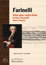 Farinelli - Arias Pour Contre-tenor De Duni, Hasse, Giacomelli, Porpora - Chant-piano