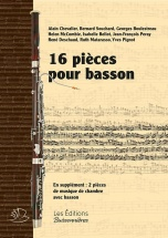16 Pieces Pour Basson (solo Et Avec Piano)