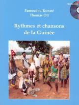 Konate F./ Ott T. - Rythmes Et Chansons De La Guinee + Cd - Percussion