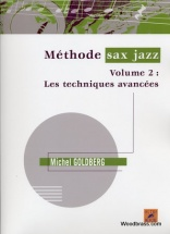 Goldberg M. - Méthode De Saxophone Jazz Vol.2 + Cd