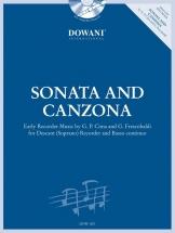 Sonata And Canzona - Flb Soprano Et Bc