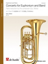 Itaru Sakai - Concerto For Euphonium And Band - Piano Reduction