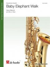 Mancini H. - Baby Elephant Walk - 4 Saxophones