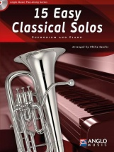 Sparke Philip - 15 Easy Classical Solos - Euphonium and Piano