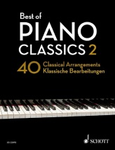 Heumann H.-g. - Best Of Piano Classics 2 - 40 Classical Arrangements
