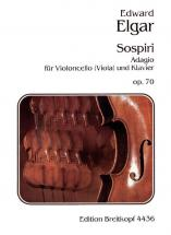 Elgar Edward - Sospiri Op. 70 - Cello, Piano