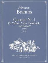 Brahms J. - Quatuor Avec Piano Op. 25 En Sol Mineur