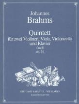 Brahms J. - Quintette Avec Piano Op. 34 En Fa Mineur