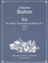 Brahms Johannes - Klaviertrio Nr.1 H-dur Op.8(2) - Violin, Cello, Piano