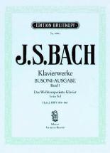 Bach Johann Sebastian - Wohltemperiertes Klavier I/2 - Piano