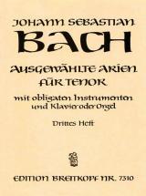 Bach J.s. - Ausgewahlte Arien Fur Tenor 3