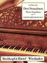 Reinecke Carl - Drei Sonatinen Op. 47 - Piano