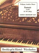 Mozart Wolfgang Amadeus - Fantasie D-moll Kv 397 (385g) - Piano