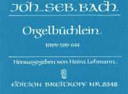 Bach Johann Sebastian - Orgelbuchlein Bwv 599-644 - Organ