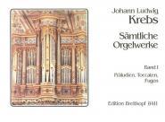Krebs J.l. - Intégrale Pour Orgue Vol.1, Praludien, Toccaten, Fugen