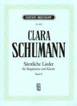 Schumann C. - Integrale Des Lieder Voix & Piano Vol.2