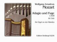 Mozart Wolfgang Amadeus - Adagio Und Fuge C-moll - Orgue