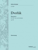 Dvorak Anton - Requiem Op.89 - Vocal Score
