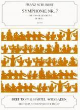 Schubert F. - Symphonie Nr. 7 H-moll D 759 - Conducteur Poche