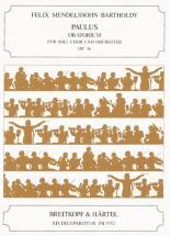 Mendelssohn-bartholdy F. - Paulus Op. 36 - Study Score