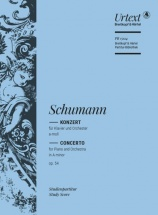 Schumann Robert - Piano Concerto Op.54 - Study Score