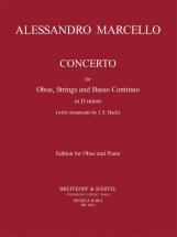 Marcello Alessandro - Concerto En Re Mineur - Hautbois & Piano