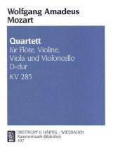 Mozart Wolfgang Amadeus - Quartett D-dur Kv 285 - Flute, Violin, Viola, Cello