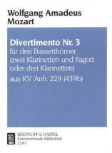 Mozart W.a. - Divertimento Kvanh229(439b) Nr.3 - Cors