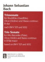 Bach Johann Sebastian - Triosonate B-dur - Flute, Oboe, Basso Continuo