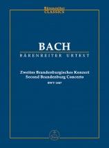 Bach J.s. - Brandenburg Concerto N° 2 Bwwv 1047 F Major