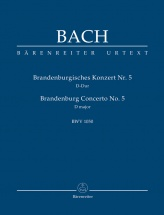 Bach J.s. - Brandenburg Concerto N°5 Bwv 1050