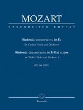 Mozart W.a. - Sinfonia Concertante Kv 364 (320d) - Score
