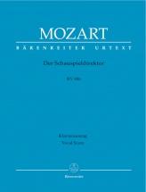 Mozart W.a. - Der Schauspieldirektor Kv 486 - Chant, Piano