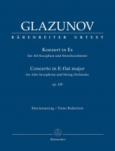 Glazunov A. - Concerto For Alto Saxophone Op.109 - Saxophone and Piano