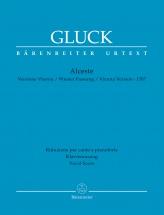 Gluck C. W. - Alceste (version De Vienne 1767) - Vocal Score