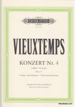 Vieuxtemps Henri - Concerto No.4 In D Minor Op.31 - Violin And Piano