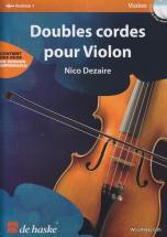 Dezaire Nico - Doubles Cordes Pour Violon + Cd