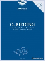 Rieding O. - Concerto For Violin and Piano Op.34 + Cd