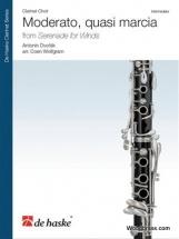 Dvorak A. - Moderato, Quasi Marcia From Serenade For Winds - Clarinet Choir