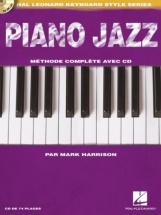 Harrison Mark - Piano Jazz + Cd - Edition Francaise