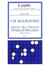 Balbastre C.b. - Pieces De Clavecin, D