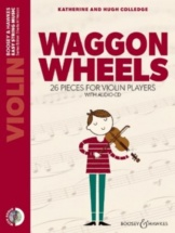 Colledge K. and H. - Waggon Wheels + Cd - Violon