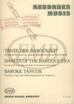 Dances Of The Baroque Era - Flute A Bec, Piano